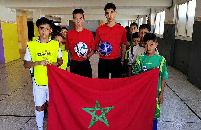 افتتاح الدوري الرمضاني لكرة القدم المصغرة